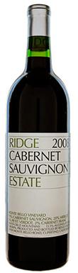 Ridge, Estate Cabernet Sauvignon 2008