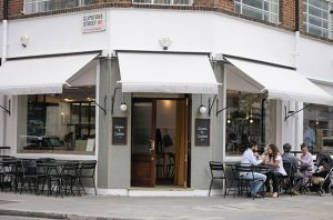 Clipstone Restaurant, London
