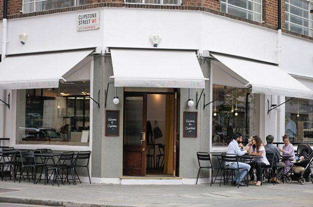 Clipstone Restaurant, London