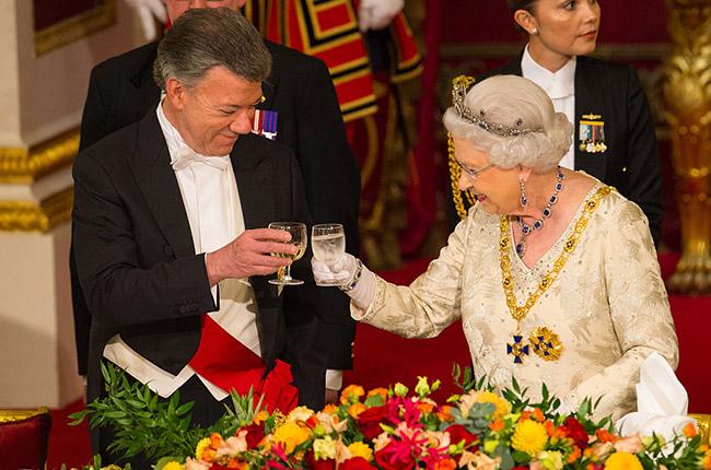 columbian royal banquet, wines