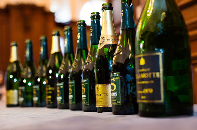 dfwe 2016, Champagne Delamotte and Champagne Salon