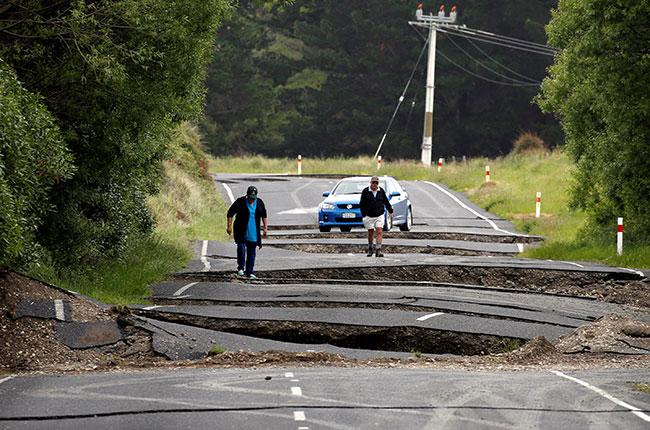 NZ earthquake, wine