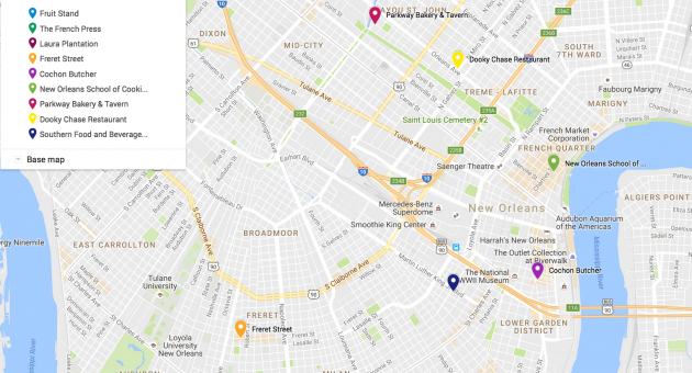 French Market New Orleans Map.Food Trails Where To Eat In New Orleans Decanter