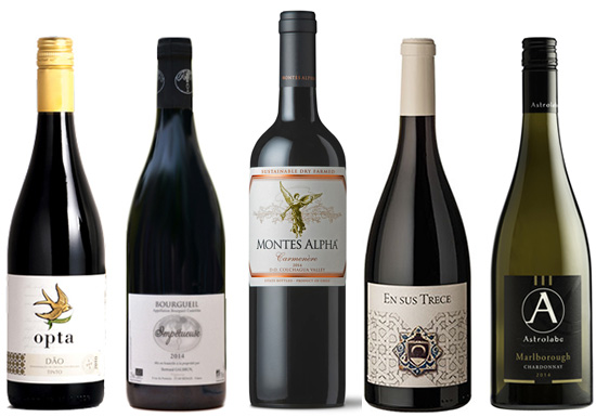 Bonfire Night, winter wines
