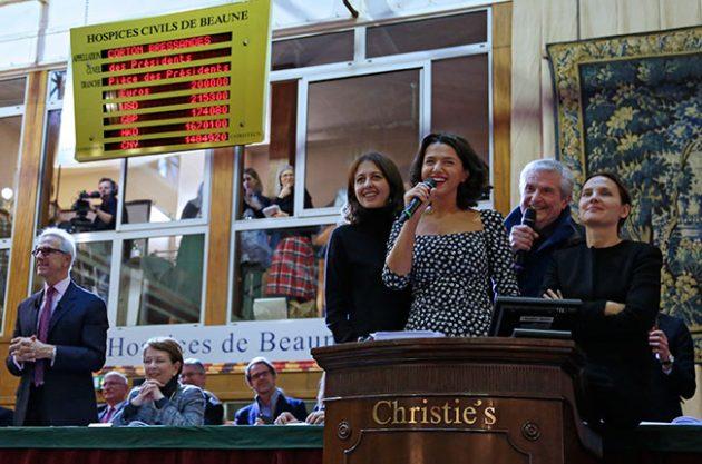 Hospices de Beaune 2016, burgundy auction