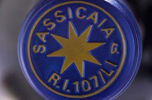 tasting sassicaia wine, super tuscan