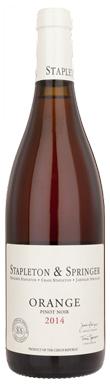 Stapleton & Springer, Orange Pinot Noir 2014
