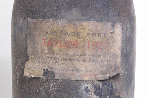 Taylor 1927 vintage Port