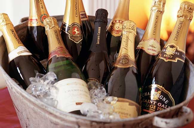 chill champagne