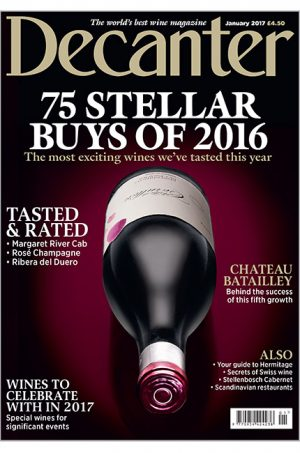 Decanter January 2017