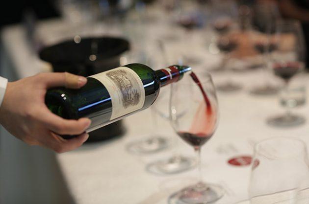 lafite rothschild vertical, fine wines 2016