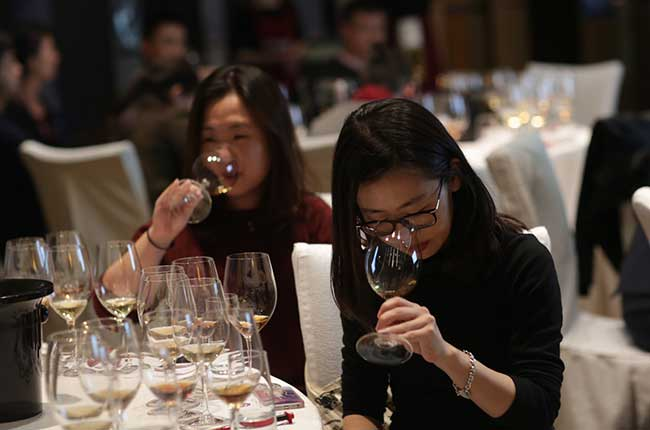 Sup[er Tuscan wines, Decanter Shanghai