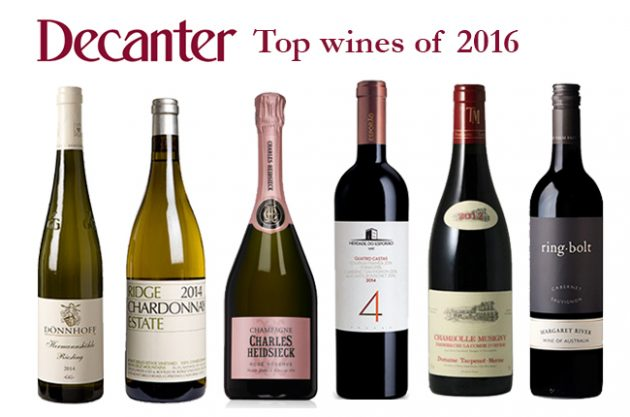 Top Wines of 2016
