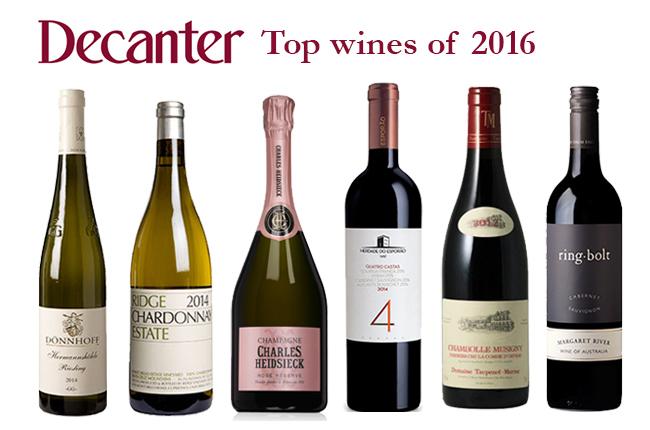Top Wines of 2016