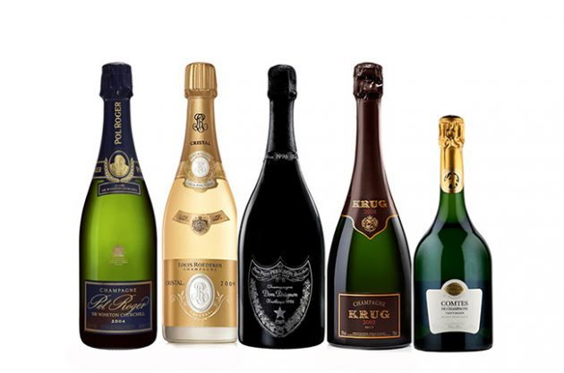 Top Champagnes rated by Decanter experts