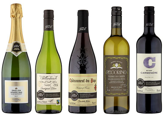 Five Tesco wines for winter