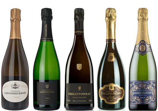 Phenomenal value grower Champagnes for Christmas