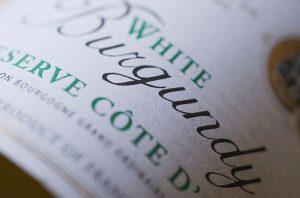 white wine for christmas, burgundy