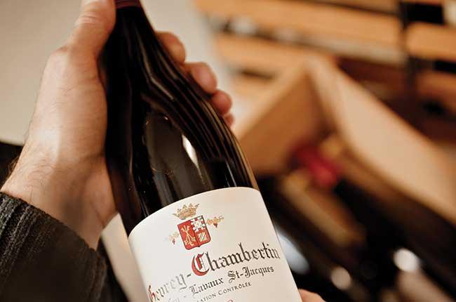 Burgundy 2015 red vintage