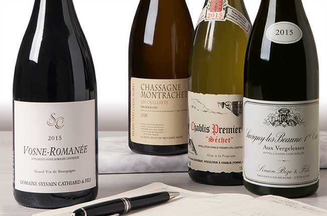 Burgundy 2015 vintage overview