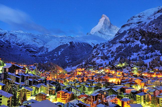 restaurants in ski resorts