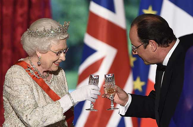 Queen english wine
