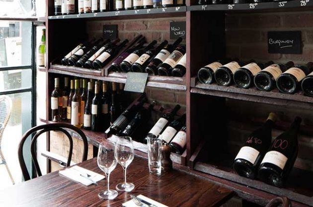 Restaurant wine lists