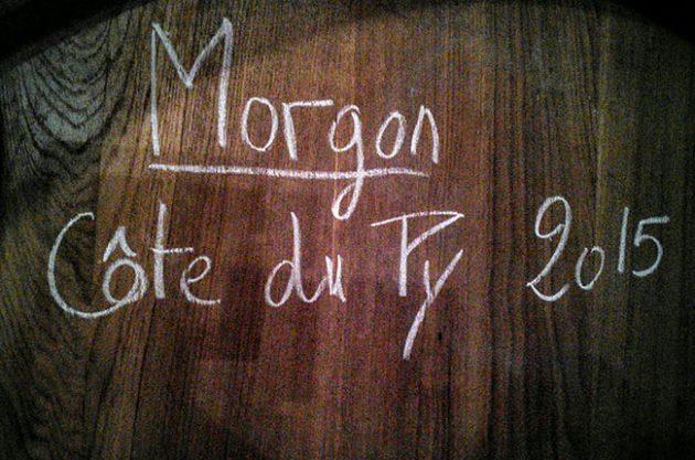 beaujolais 2015, piron, morgon