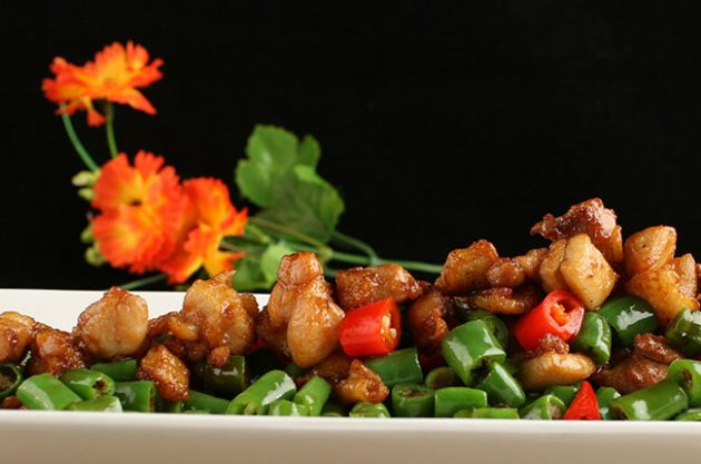 wines with chinese food, sichuan chicken