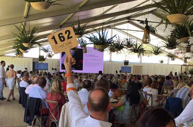 Cape wine auction 2017