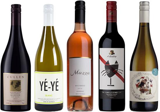 Experimental Australian wines