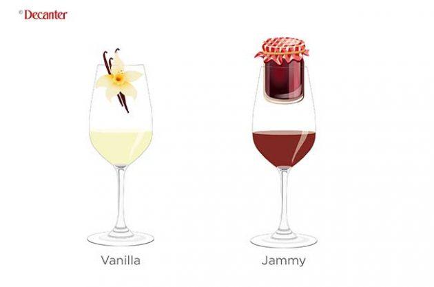 understand tasting notes, vanilla jammy