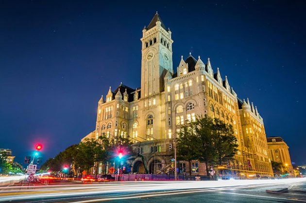 trump hotel, washington dc