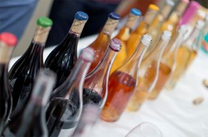 raw fair, natural wine