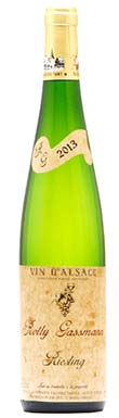 Rolly Gassman, Riesling, Alsace, France 2013
