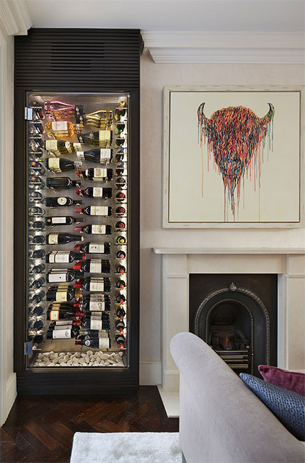 Luxury wine rooms are the latest home design trend says for Spiral wine cellar cost