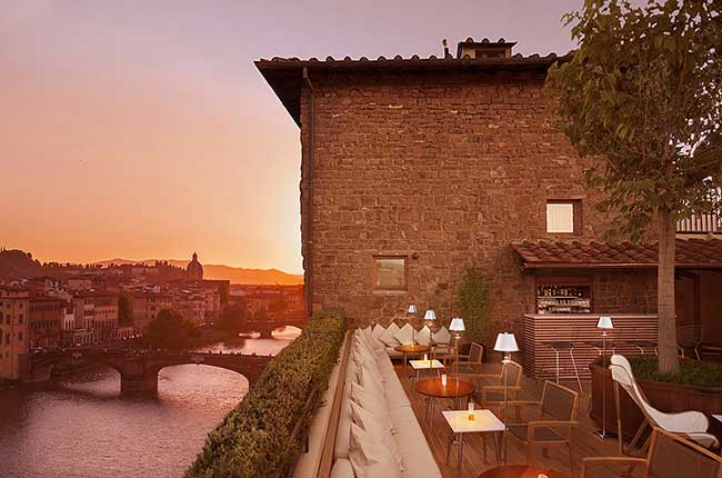 Florence wine bars, La Terrazza Wine Bar