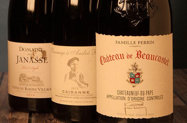 Southern Rhone wine
