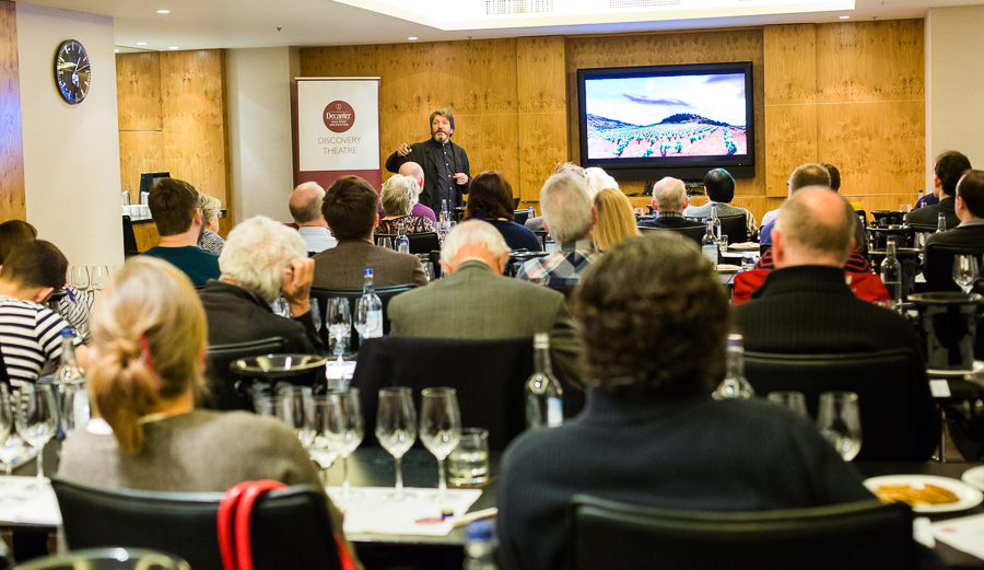 spain and portugal discovery theatre - learn about wine