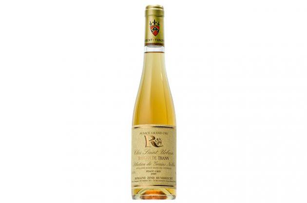 Zind-Humbrecht, Clos St Urbain Pinot Gris SGN