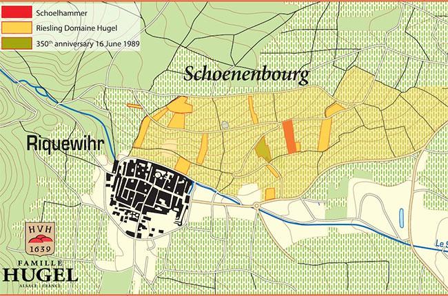 schoenenberg vineyard, alsace