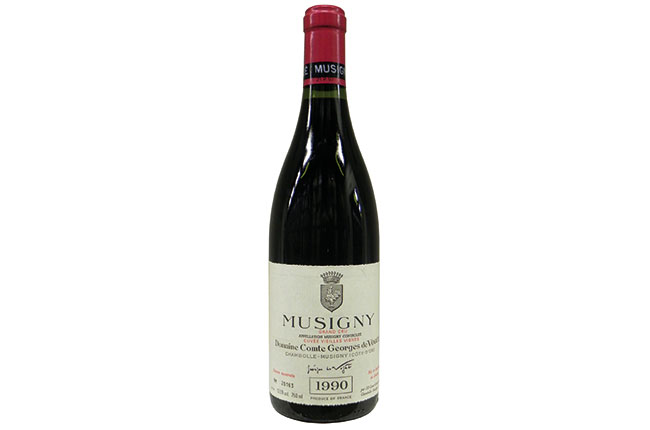 Comte de Vogüé Musigny 1990