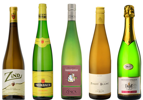 Delicious Alsace wines under £20