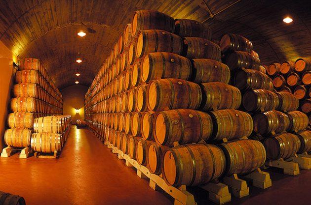 Rioja profile, barrels