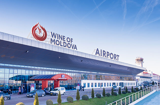 Moldova wine airport