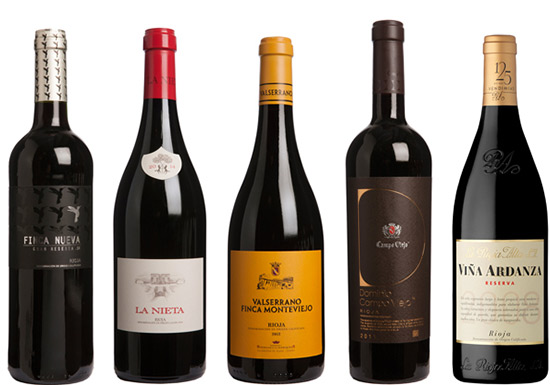 Premium red Rioja