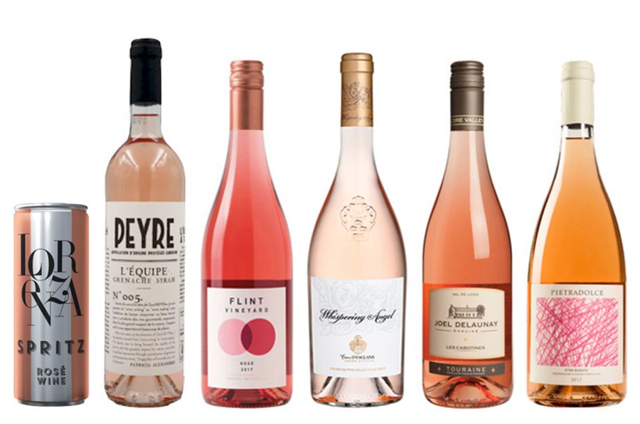 Value rosé wines
