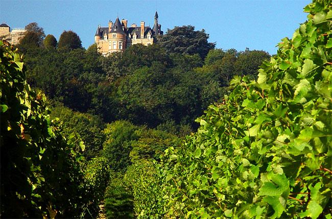Château de Sancerre, loire