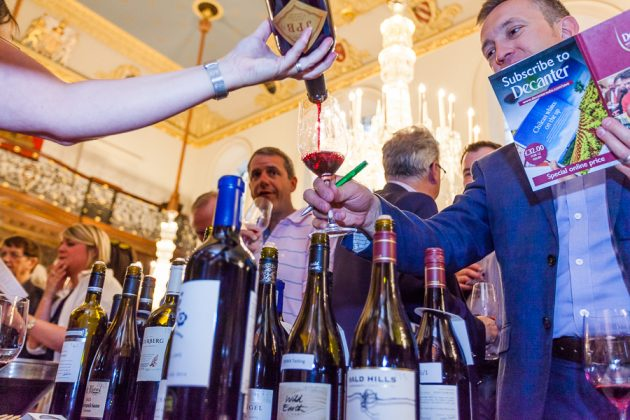 Decanter World Wine Awards tasting 2017