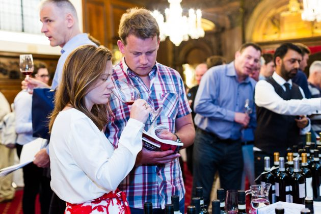 Decanter World Wine Awards 2017 tasting